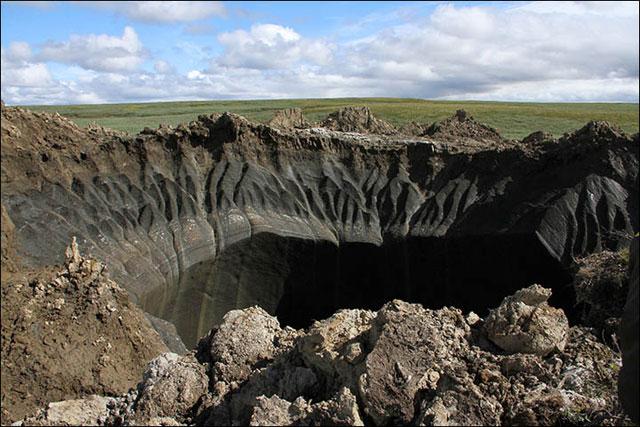 agüjero misterioso en Siberia