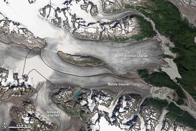 Battle Glacier Complex de Alaska