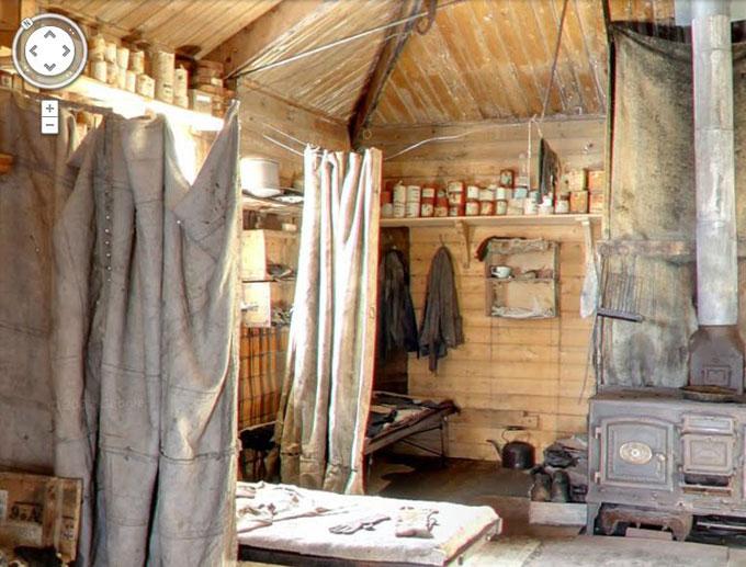 cabaña de Shackleton