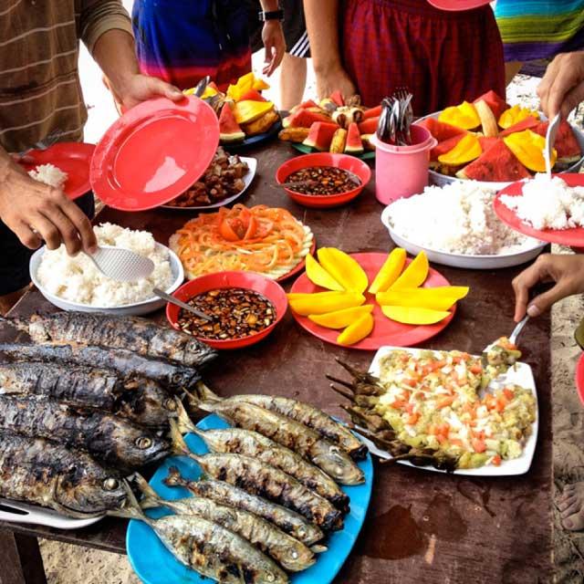comida típica filipina