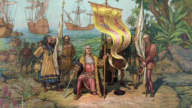 Cristobal Colón descubre América