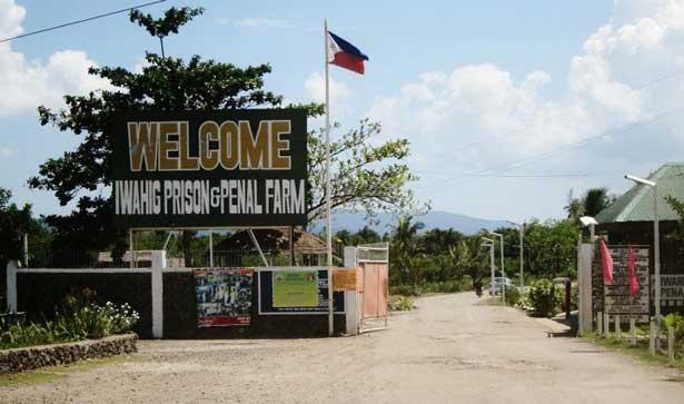 entrada a la cárcel de Iwahig, Filipinas