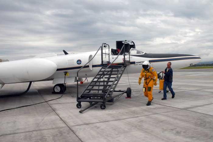 Avión ER-2 de la NASA