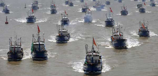 flota pesquera China