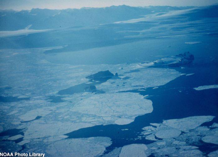 hielo marino de la Antártida