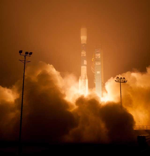 OCO-2, lanzamiento