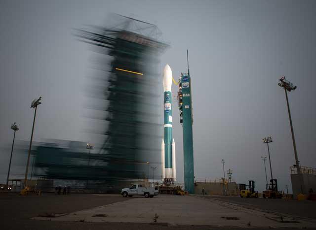 OCO2 en la rampa de lanzamiento
