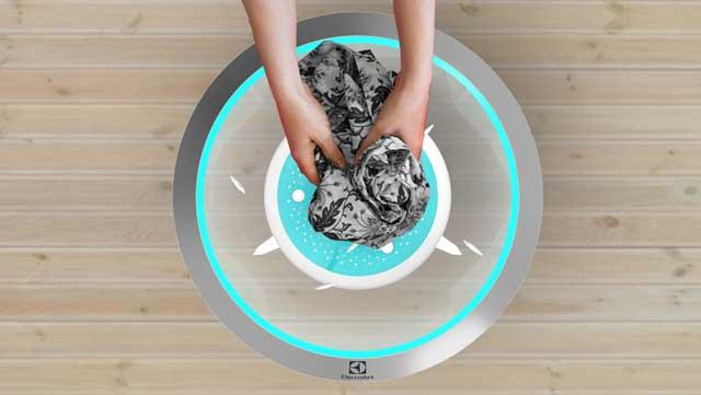 Pacera, sistema de limpieza de ropa de Electrolux