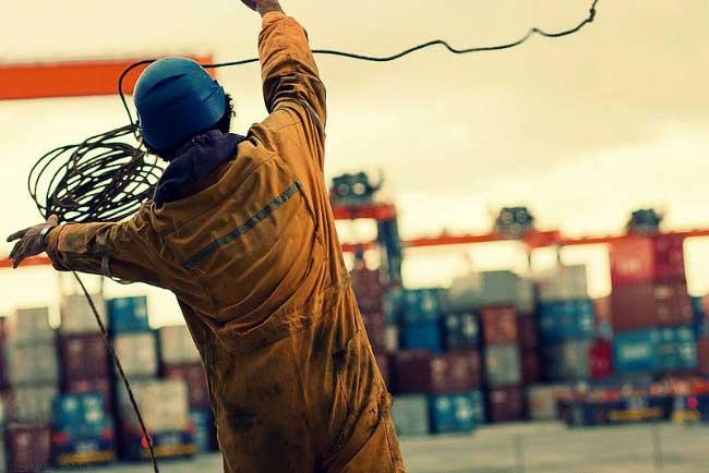 trabajador de mar filipino