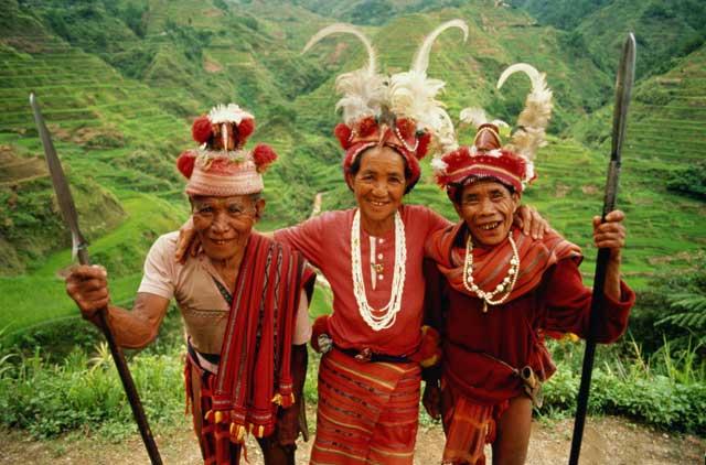 traje de montaña tradicional, Banaue - Filipinas