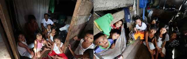 afectados por el Súper tifón Haiyan