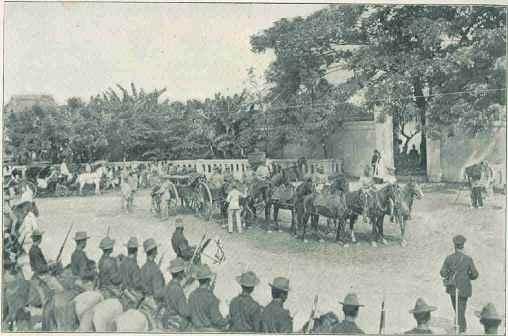 antiguo entierro ewn Paco Park