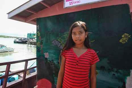 Arabella, de la tribu Bajau