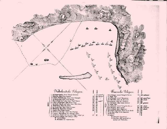 batalla de puerto de Scarborough, Tobago
