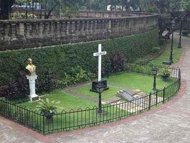 busto de Jose Rizal en Paco Park