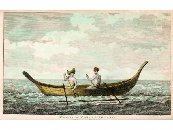 canoa de la Isla de Pascua