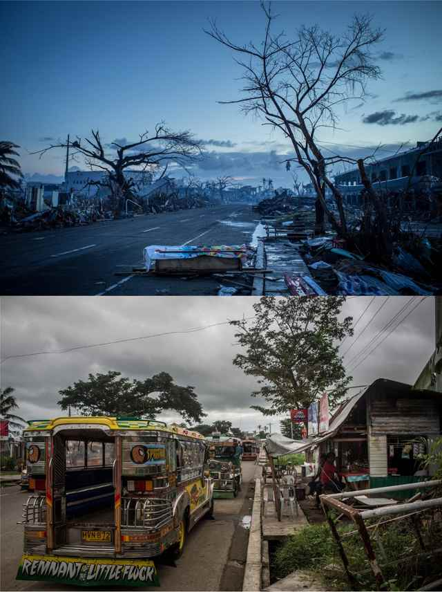 carretera al aeropuesrto de Leyte 2013-2014