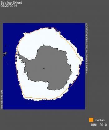 máximo capa hielo marino Antártida 2014