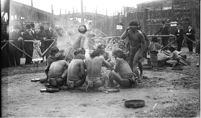 igorrotes de Filipinas en Coney Island