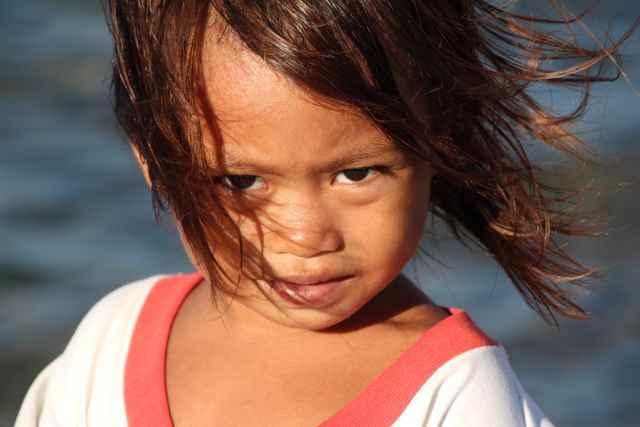 niña del Banco de Danajon, Filipinas