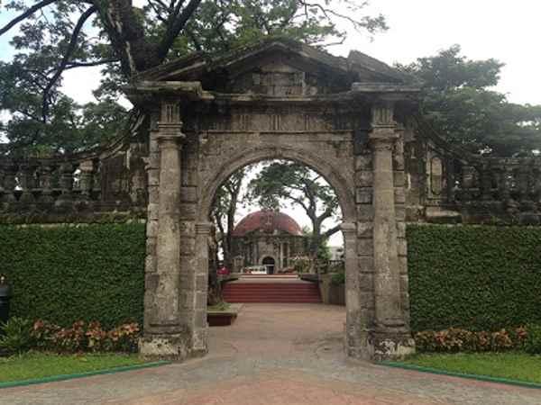 Paco Park, entrada