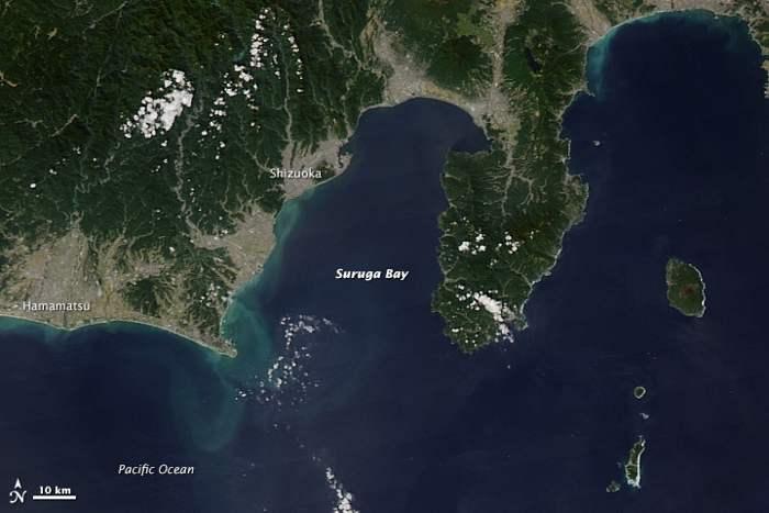 costa de Japón el 29 de septiembre de 2014