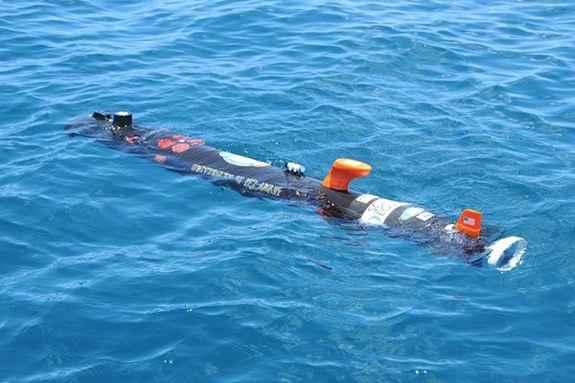 robot submarino aviones de la II Guerra Mundial