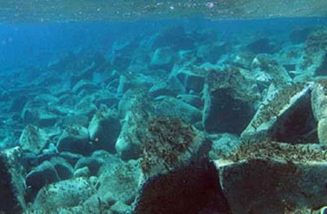 Ruinas sumergidas de Delos