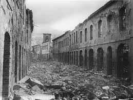 Saint-Pierre en 1902 tras la erupción