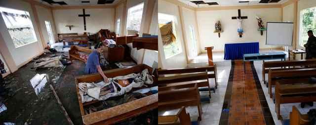 aniversario del Súper tifón Haiyan