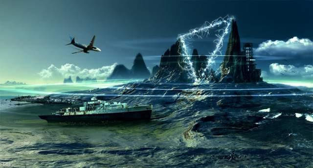Triángulo de las Bermudas (ficción)