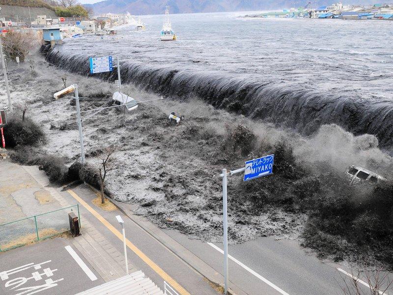tsunami Japón de 2010