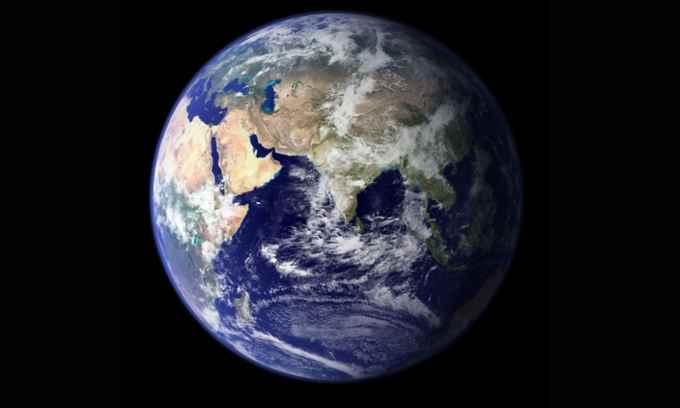agua en los océanos de la Tierra