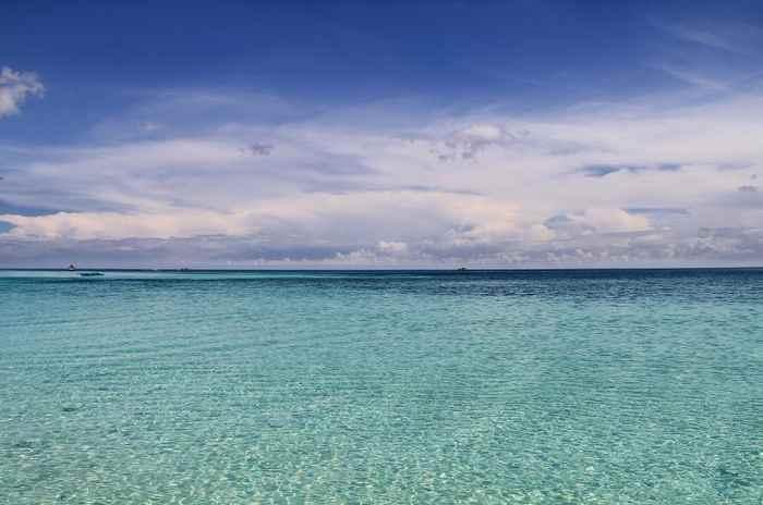 aguas cristalinas en Filipinas