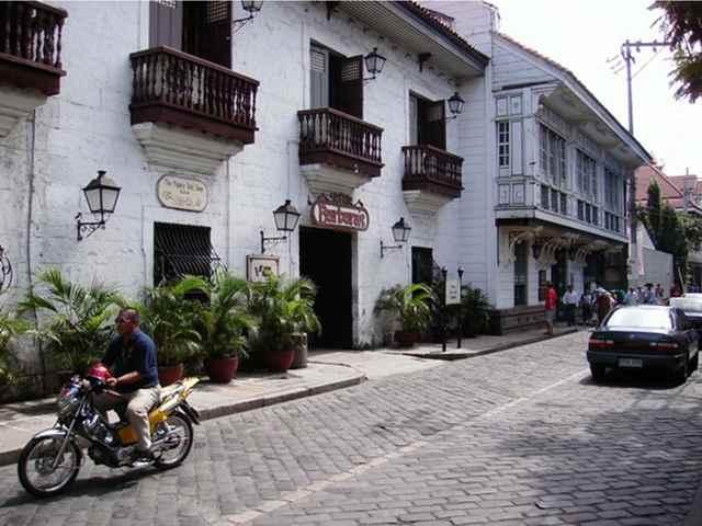 casas coloniales en Manila, Filipinas