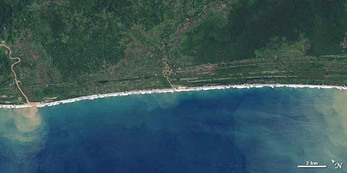 costa de Aceh 13 de diciembre de 2004