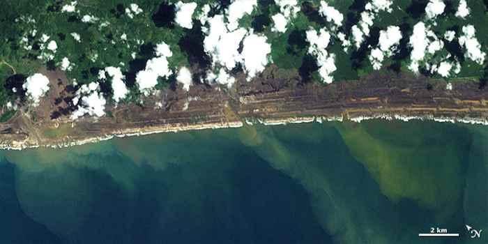 costa de Aceh 29 de diciembre de 2004