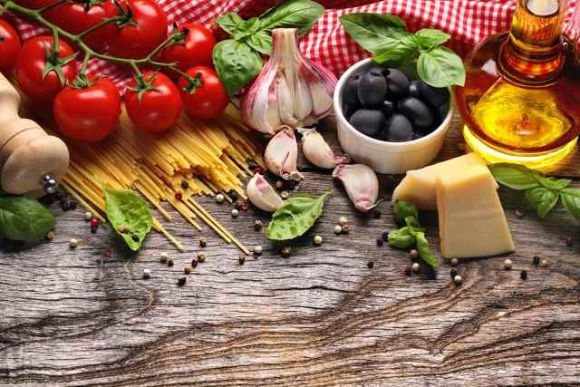 productos de la dieta mediterránea