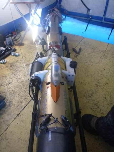 dron submarino