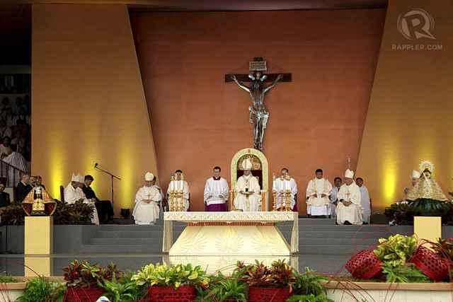 homilía del Papa Francisco en la Luneta, Manila