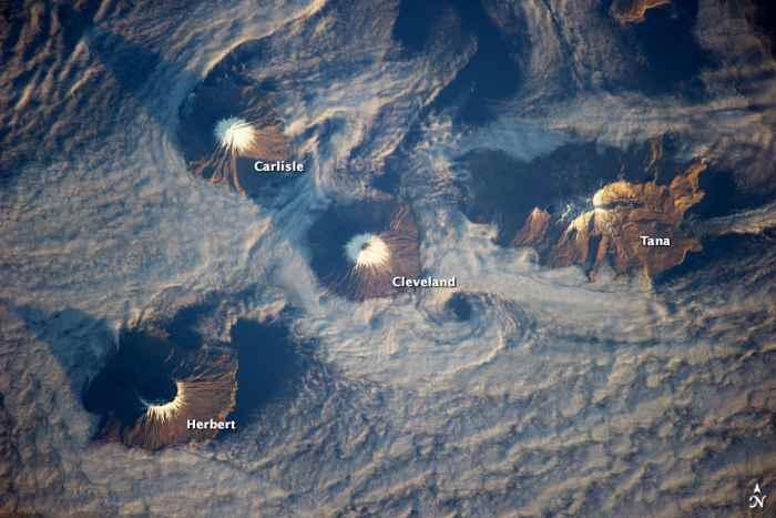 Las Islas de las Cuatro Montañas, Alaska