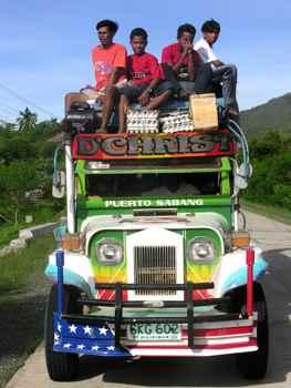 jeepney, el taxi coldectivo de Filipinas