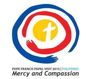 logo visita del Papa Francisco a Filipinas Misericordia y Compasión
