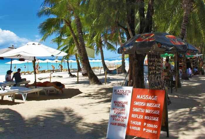 masajes en Filipinas
