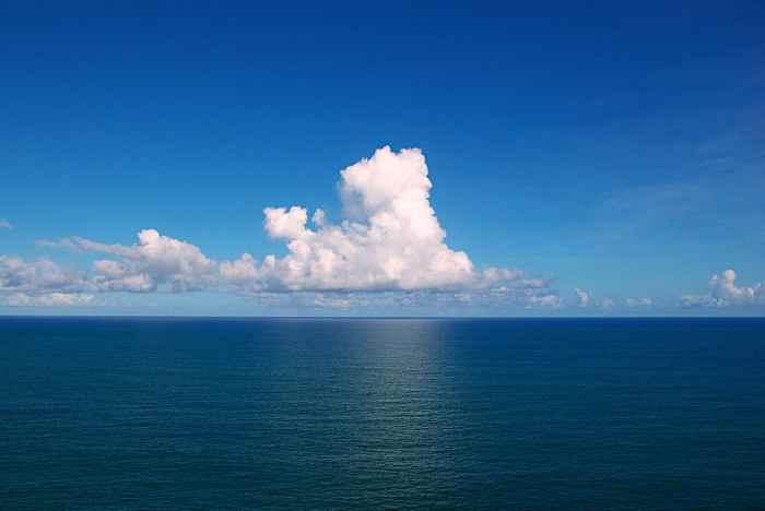 radiactividad de Fukushima a través del Pacífico