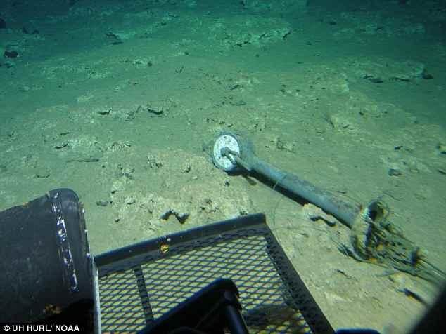 restos del Dickenson / USS Kailua