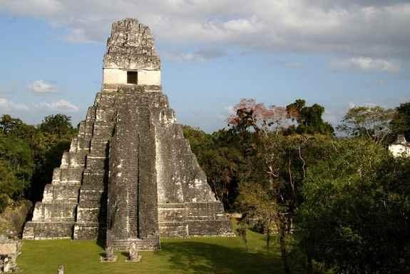 templo maya de Tikal