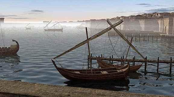 veleros bizantinos antiguos