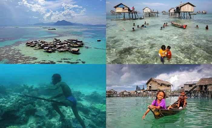los bajau, Filipinas