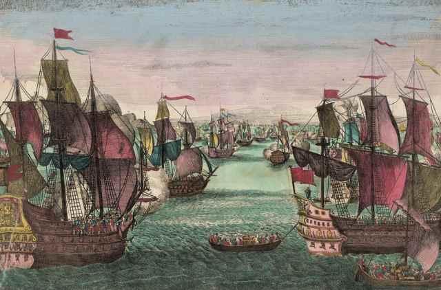 flota española  en 1790